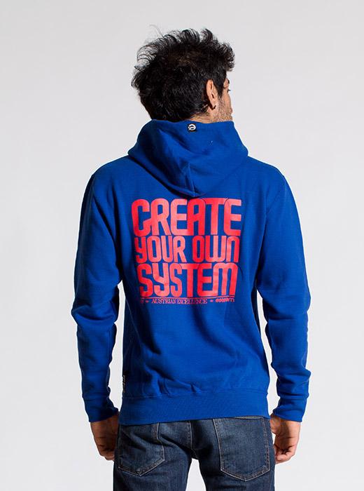 esteem SYSTEM Hoody blau