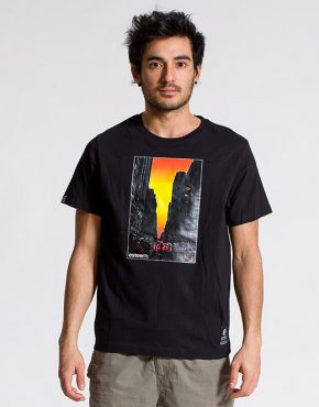 esteem T-shirt SUNSET schwarz Print