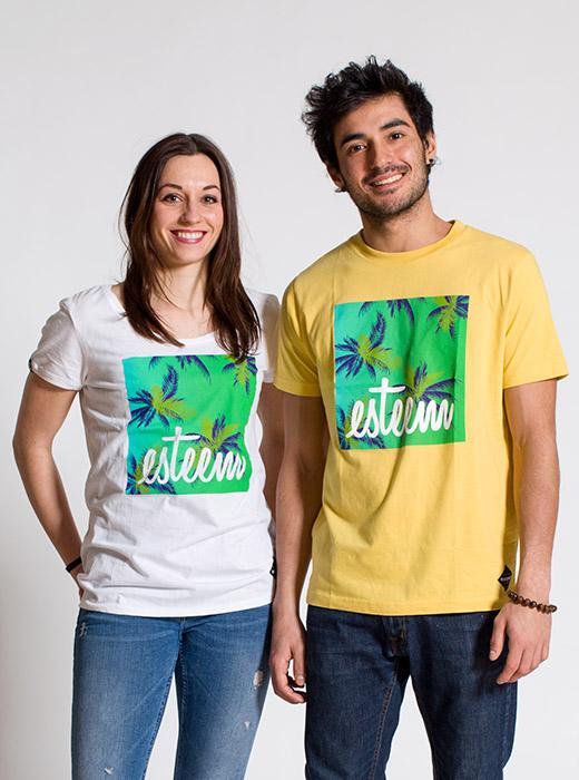 esteem T-shirt girl boy BEACH Partner