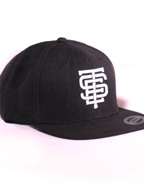 esteem snapback EST grau grey anthrazit 3D Stick