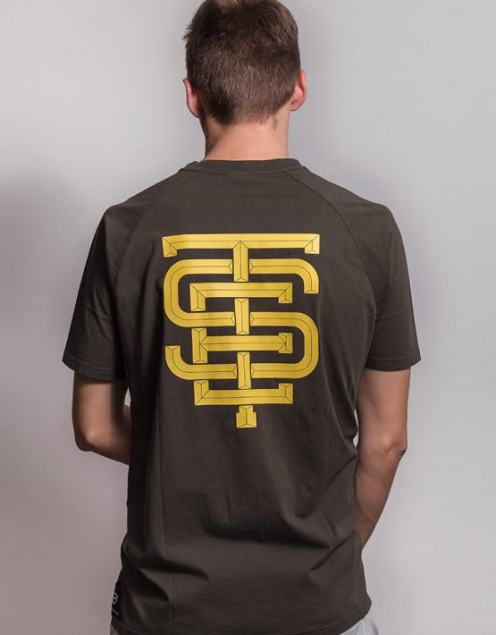 esteem EST MONOGRAM T-shirt back
