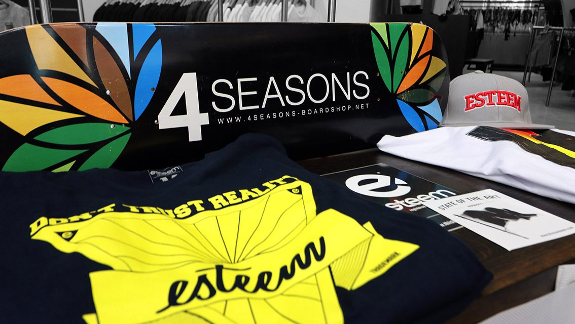 esteem im 4seasons Boardshop Salzburg
